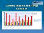 climatic impacts and range condition27