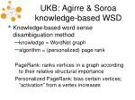 ukb agirre soroa knowledge based wsd