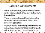 coalition governments1