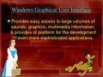 windows graphical user interface