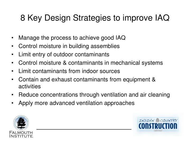 8 Key Design Strategies to improve IAQ