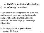 4 mu ens institutionelle struktur