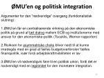 mu en og politisk integration1