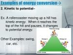 examples of energy conversion1