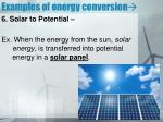examples of energy conversion5