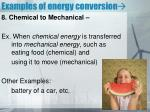 examples of energy conversion7
