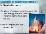 examples of energy conversion8