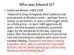 who was edward iv