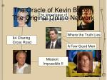the oracle of kevin bacon the original online network