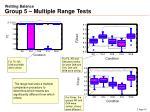 wetting balance group 5 multiple range tests