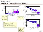 wetting balance group 6 multiple range tests