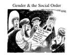 gender the social order
