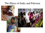 the hijras of india and pakistan