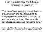 firm foundations the future of housing in scotland2