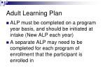 adult learning plan2