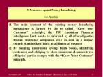 5 measures against money laundering 5 2 austria