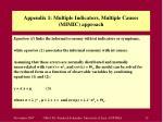 appendix 1 multiple indicators multiple causes mimic approach2
