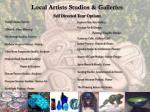 local artists studios galleries