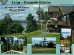 lodge oceanside exterior