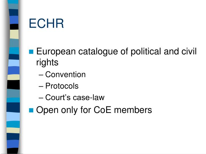 why european law eu and echr has You'll love studying eu law if you like politics, if you are a visionary, if you are a pragmatist in other words, eu law has something in it for everyone - and even if you are none of those things, you must study it because it's compulsory.