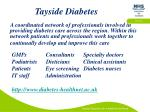 tayside diabetes