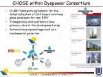 chose within dyepower consortium