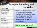 example paperboy and the wallet1