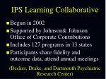 ips learning collaborative becker drake and dartmouth psychiatric research center