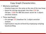 copy graph characteristics