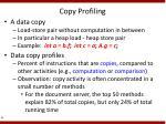 copy profiling