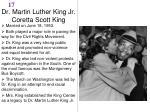 dr martin luther king jr coretta scott king