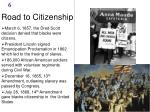 road to citizenship