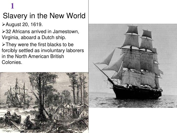 slavery in the new world n.