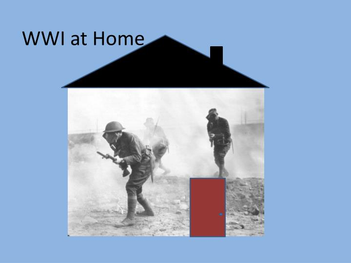 wwi at home n.