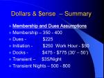 dollars ense summary1