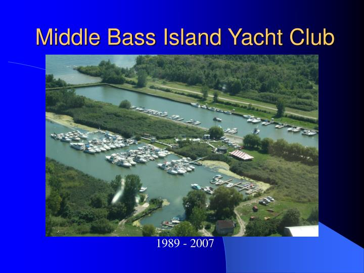 middle bass island yacht club n.