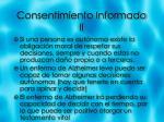 consentimiento informado ii