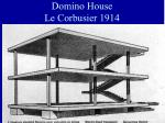 domino house le corbusier 1914