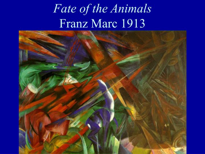 Fate of the Animals