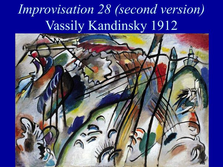 Improvisation 28 (second version)