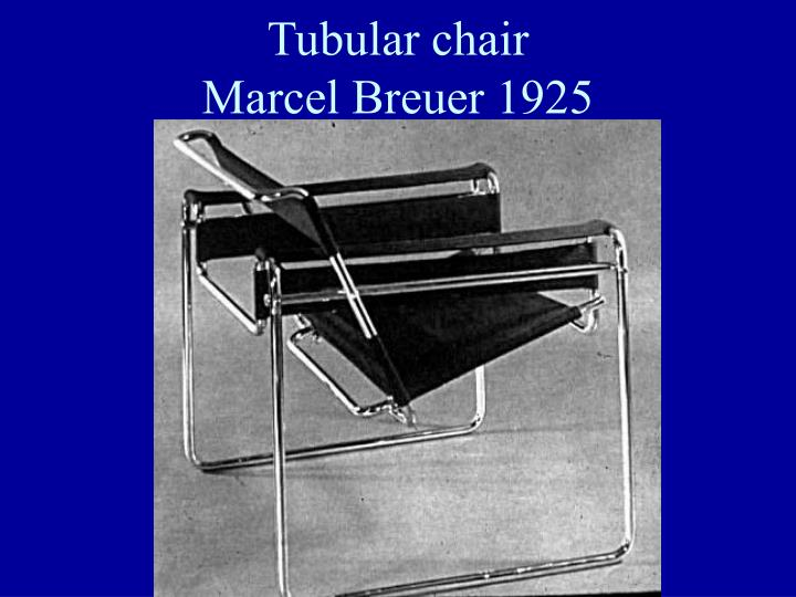 Tubular chair