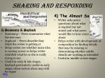 sharing and responding1