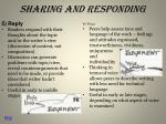 sharing and responding2
