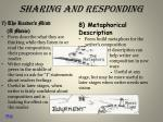 sharing and responding3