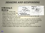 sharing and responding4