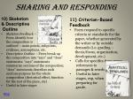 sharing and responding5