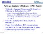 national academy of sciences nas report
