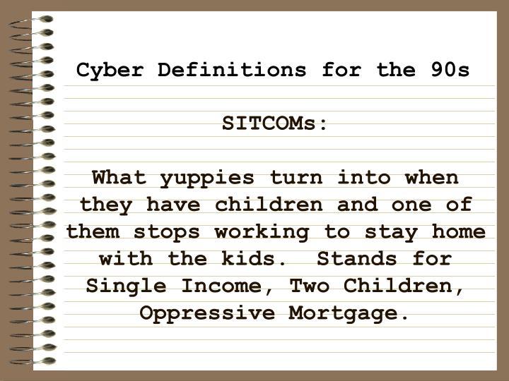 SITCOMs: