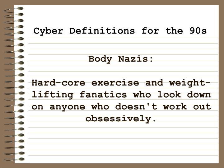 Body Nazis: