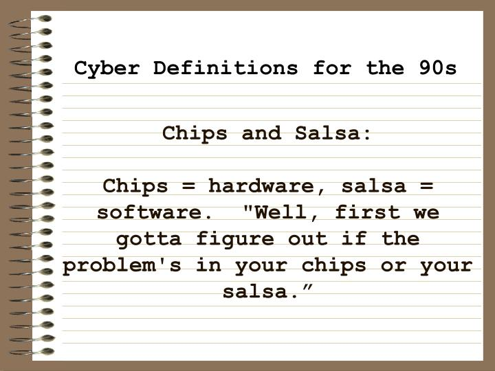 Chips and Salsa: